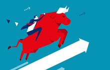 """Bất chấp Châu Á """"đỏ lửa"""" và khối ngoại bán ròng, VN-Index vẫn tăng gần 4 điểm với lực kéo từ nhóm ngân hàng"""