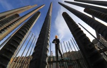 Ngành xây dựng Trung Quốc giảm mua vật liệu vì không chịu nổi giá thép cao như hiện nay