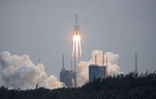 NÓNG: Tên lửa Trường Chinh 5B lao xuống trong ít phút, Trung Quốc công bố chính xác tọa độ điểm rơi