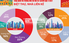 [Infographics] Toàn cảnh thị trường bất động sản quý 1/2021