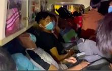 CLIP: Xe cứu thương chở 11 người từ Bắc Ninh về Sơn La với giá 300 ngàn đồng/người