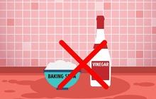 8 sản phẩm tẩy rửa tuyệt đối không bao giờ trộn chung với nhau để làm sạch