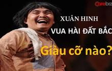 """""""Vua hài đất Bắc"""" Xuân Hinh nghèo khổ trên sân khấu, đại gia thứ thiệt ngoài đời thực: Vừa có nhà chục tỷ ở phố Hàng Bông, vừa có nhà cổ đắt đỏ ở Bắc Ninh"""