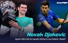 """""""Chiến binh bất tử"""" Novak Djokovic và nỗ lực chấm dứt kỷ nguyên thống trị của Federer-Nadal: Muốn đội vương miện, phải chịu được sức nặng của nó"""