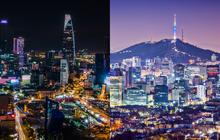 GDP bình quân đầu người của Việt Nam đi sau bao nhiêu năm so với Thái Lan, Hàn Quốc...?