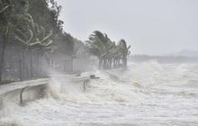 Áp thấp nhiệt đới cách bờ biển Nam Định - Ninh Bình 120km