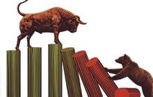 VnIndex chốt phiên tăng 4 điểm, thanh khoản thị trường tiếp tục thấp
