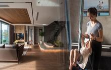Căn hộ duplex ngập tràn ánh ánh nắng ở Hà Nội: Có nước chảy cây xanh, không gian thoáng đáng cho các hoạt động của gia đình