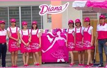 Xe chở băng vệ sinh, tã bỉm Diana Unicharm bị chặn lại vì không được coi là hàng thiết yếu