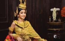 """Viên ngọc quý của Hoàng gia Campuchia: Tiểu công chúa với vẻ đẹp lai cực phẩm dù mới 10 tuổi, soi thành tích chỉ biết xuýt xoa """"quốc bảo"""""""