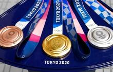 Hé lộ giá trị thật của những chiếc huy chương tại Olympic 2020