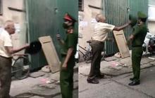 Hà Nội: Phạt 2 triệu đồng người đàn ông dùng mũ cối đập vào đầu chiến sĩ công an vì bị nhắc nhở đeo khẩu trang
