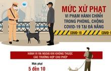 Chi tiết mức xử phạt trong phòng, chống COVID-19 tại Đà Nẵng