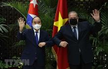 Chủ tịch nước cảm ơn Cuba sẵn sàng hợp tác sản xuất vắc-xin Abdala với Việt Nam
