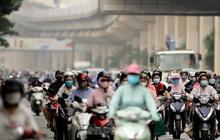 Đường phố Hà Nội lại ùn ứ trong ngày đầu tuần