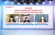 ĐHĐCĐ Kido (KDC): Chuỗi Chuk Chuk sẽ bán online từ ngày 22/9, thống nhất chia thưởng cổ phiếu quỹ cho cổ đông