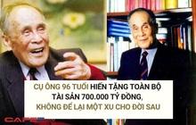 Tỷ phú 96 tuổi khiến số đông ngỡ ngàng khi hiến toàn bộ tài sản 700.000 tỷ đồng, không để lại một xu cho đời sau: 6 người con sống ẩn danh, đạm bạc tới không ngờ