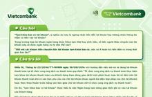 """Vietcombank chính thức giải đáp về thuật ngữ """"Tạm khóa báo có"""" đang được quan tâm nhất hiện nay"""