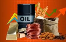 Thị trường ngày 23/9: Giá đồng tăng gần 4%, dầu và các hàng hóa khác đồng loạt leo cao