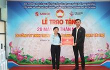 Công ty Mê Linh Point đóng góp các máy đo thân nhiệt trị giá trên 1 tỉ đồng