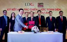 LDG Group bắt tay với quỹ S.A.M và công bố 5 dự án trọng điểm