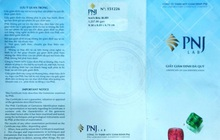 Cảnh báo chiêu thức lừa đảo mới: Giả mạo giấy giám định đá quý của PNJ