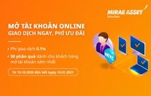 Mở tài khoản chứng khoán online 100%. Giao dịch ngay, phí ưu đãi
