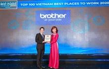 Brother International Việt Nam trở thành top 100 doanh nghiệp có môi trường làm việc tốt nhất Việt Nam