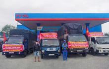 PVOIL hỗ trợ xăng dầu xe cứu trợ đồng bào lũ lụt Miền Trung