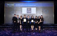 PNJ tiếp tục được bình chọn Top 100 môi trường làm việc tốt nhất Việt Nam