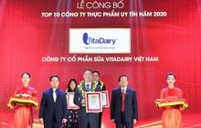 VitaDairy vào Top công ty sữa uy tín nhất Việt Nam