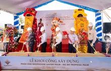 Đất Xanh Miền Trung khởi công phân khu Shophouse Lavish Palm thuộc dự án Tropical Palm