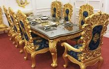 Khẳng định phong cách sang trọng với bàn ăn cổ điển tại nội thất Emporio