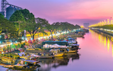 D-Aqua: Nhịp sống mới trên Bến Hoa Bình Đông