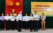 PVN cùng các đơn vị BSR và PVGAS hỗ trợ tỉnh Quảng Ngãi khắc phục thiệt hại do bão số 9