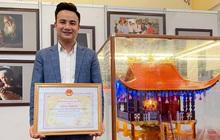 Doanh nhân 9x Nguyễn Ngọc Cường nhận bằng khen từ Bộ Công Thương