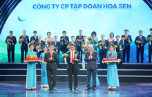 Tập đoàn Hoa Sen 5 lần liên tiếp được vinh danh trong Chương trình Thương hiệu Quốc gia