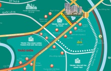 Trục đường Đông Tây sẽ trở thành cung đường đẹp bậc nhất cửa ngõ Đông Sài Gòn