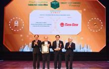 Giải pháp chiếu sáng Rạng đông đạt Giải thưởng 5 sao thành phố thông minh Việt Nam 2020