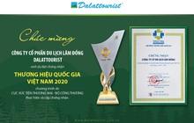 Sản phẩm du lịch Đà Lạt đạt Thương hiệu quốc gia Việt Nam 2020
