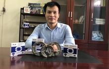 Dân tình xôn xao má phanh xe máy được làm từ bã cà phê tại Việt Nam