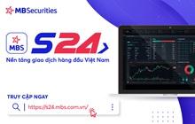 Chứng khoán MB ra mắt nền tảng giao dịch S24
