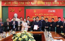 Saigontel tài trợ tỉnh Thái Nguyên lập quy hoạch, chuyển đổi số