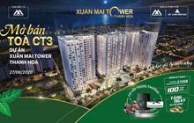 Xuân Mai Tower Thanh Hoá mở bán căn hộ tòa CT3