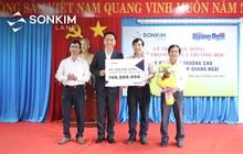 SonKim Land tiếp tục hỗ trợ 1 tỷ đồng cho học sinh tỉnh Quảng Ngãi