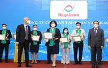 """Tập đoàn Nagakawa được vinh danh """"Top 100 thương hiệu Mạnh Việt Nam"""" 2021"""