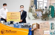 T&T Group tài trợ các địa phương 20 tỷ đồng mua trang thiết bị y tế
