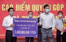 Tập đoàn DIC trao tặng 5 tỷ đồng kinh phí mua vaccine phòng ngừa Covid – 19