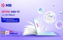 Doanh nghiệp được miễn phí trọn đời với sổ phụ điện tử của MB Bank