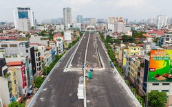 Cận cảnh đường vành đai 2 của Hà Nội sau 2 hơn năm thi công